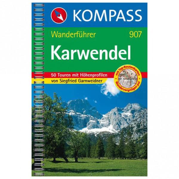 Kompass - Karwendel - Walking guide books