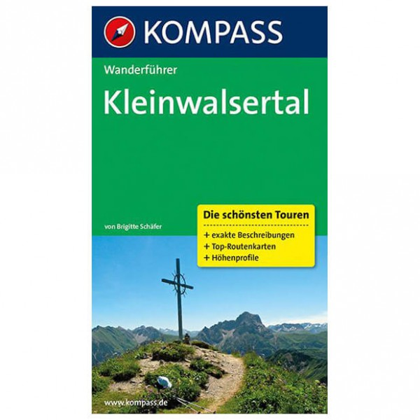 Kompass - Kleinwalsertal - Walking guide book