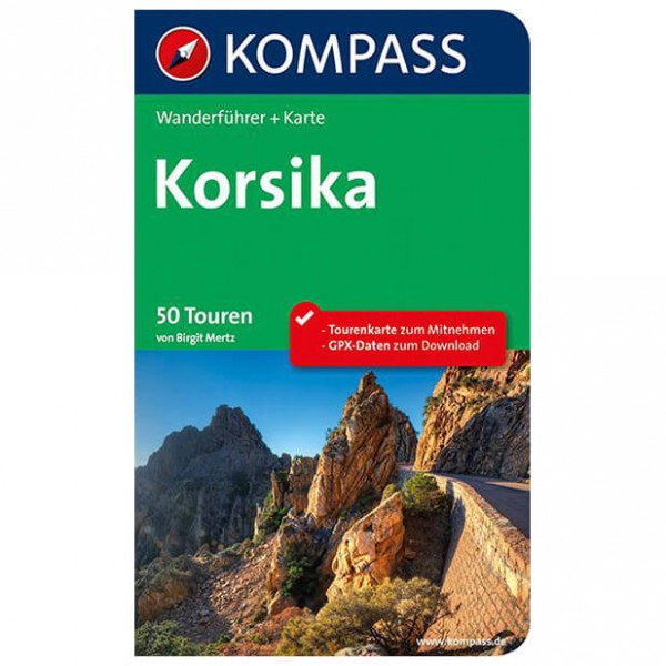 Kompass - Korsika - Wandelgidsen