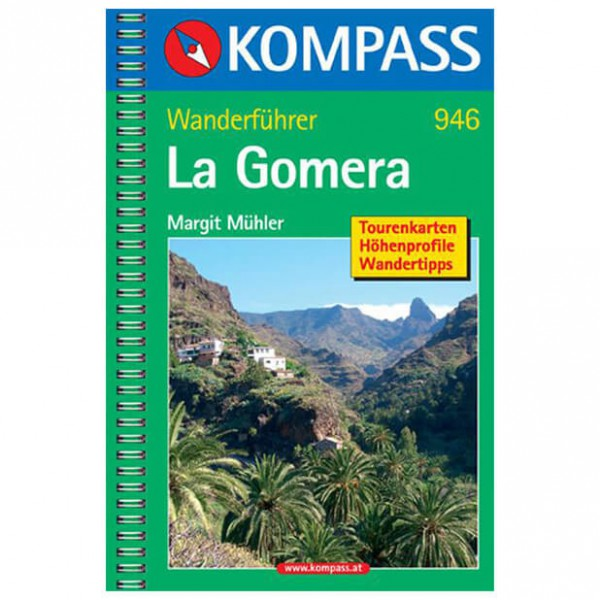 Kompass - La Gomera - Walking guide books