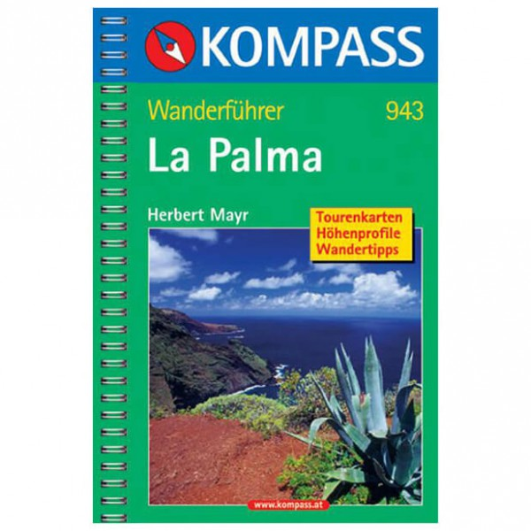 Kompass - La Palma - Hiking guides
