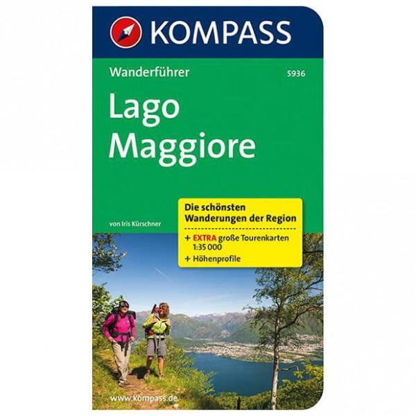 Kompass - Lago Maggiore - Walking guide books