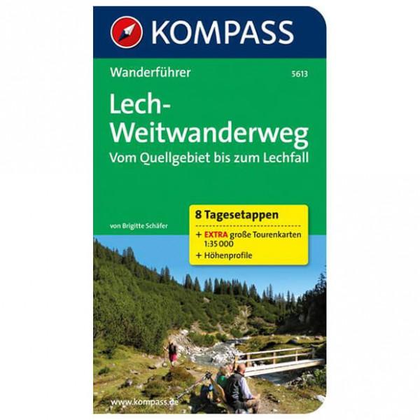 Kompass - Lech-Weitwanderweg, Vom Quellgebiet zum Lechfall