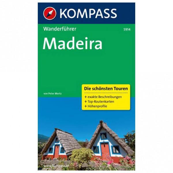 Kompass - Madeira - Wanderführer