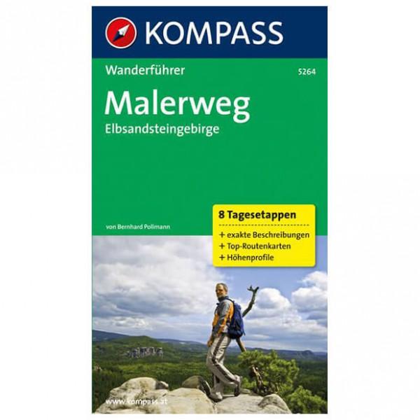 Kompass - Malerweg - Vaellusoppaat