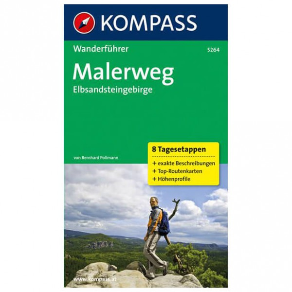 Kompass - Malerweg - Walking guide book
