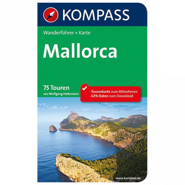 Kompass - Mallorca - Walking guide book