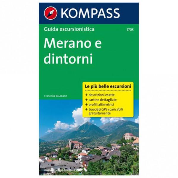 Kompass - Merano e dintorni - Walking guide book