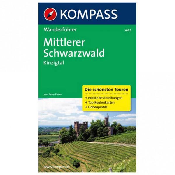 Kompass - Mittlerer Schwarzwald, Kinzigtal - Vandringsguider