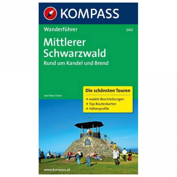 Kompass - Mittlerer Schwarzwald, Rund um Kandel und Brend - Vandringsguider
