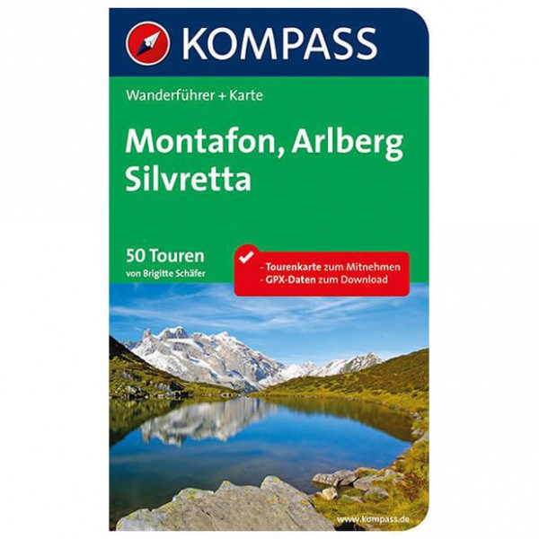 Kompass - Montafon, Arlberg, Silvretta - Walking guide book