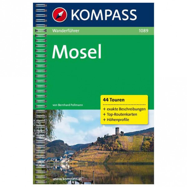 Kompass - Mosel - Walking guide book