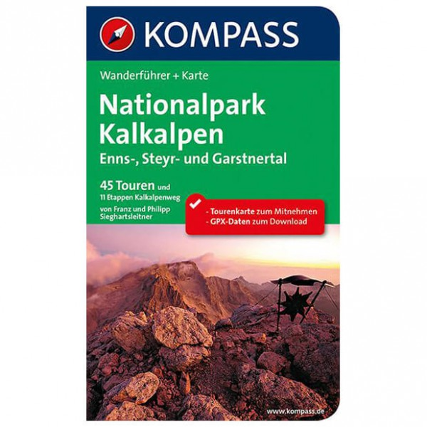 Kompass - Kalkalpen - Ennstal - Steyrtal - Walking guide book