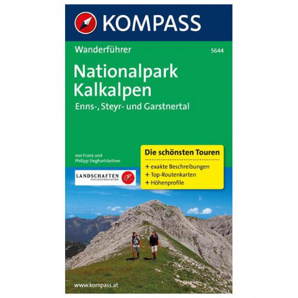 Kompass - Nationalpark Kalkalpen - Guides de randonnée