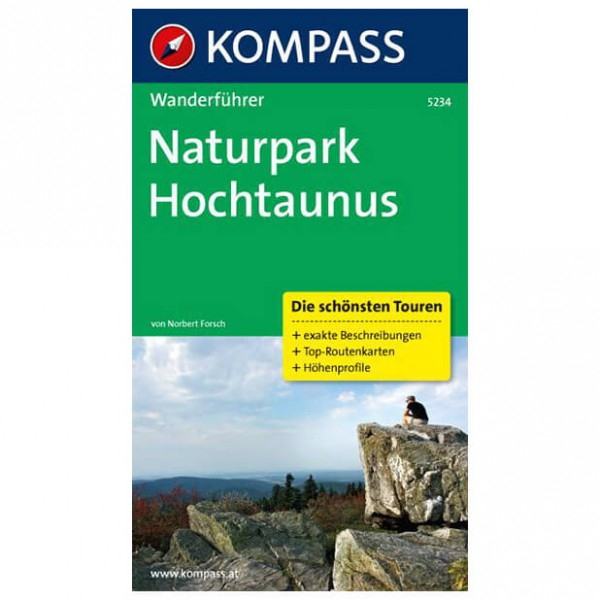 Kompass - Naturpark Hochtaunus - Walking guide books
