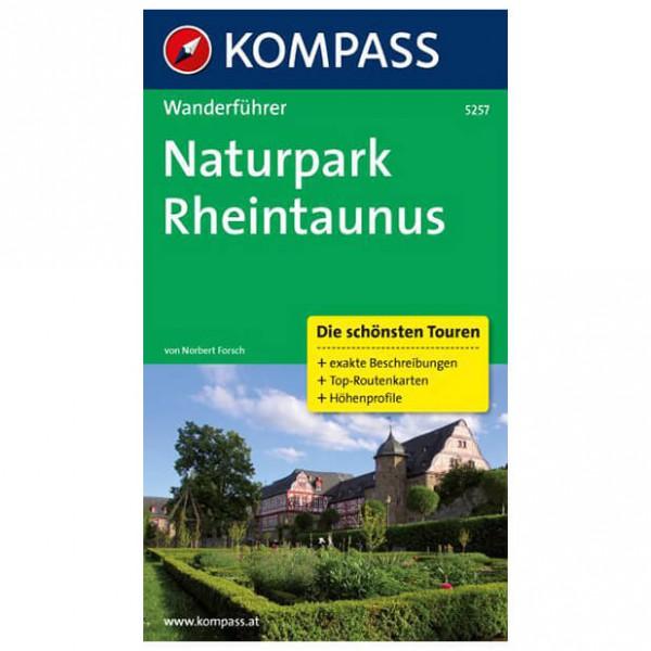 Kompass - Naturpark Rheintaunus - Vaellusoppaat