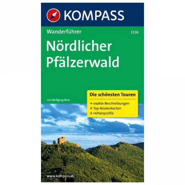 Kompass - Nördlicher Pfälzerwald - Walking guide book