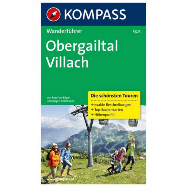 Kompass - Obergailtal - Walking guide book