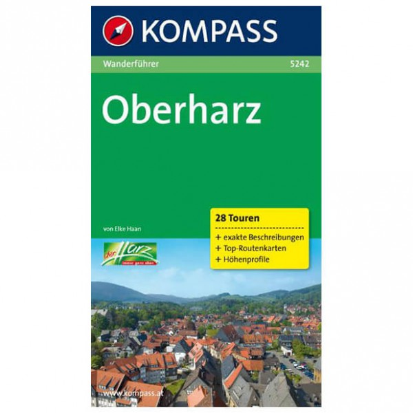 Kompass - Oberharz - Walking guide books