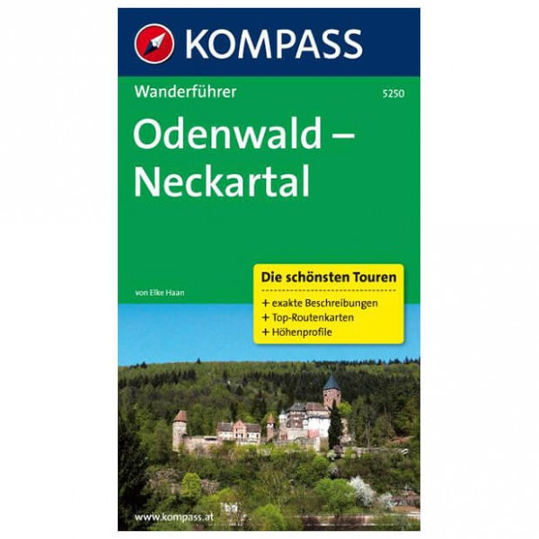 Kompass - Odenwald - Neckartal - Walking guide book