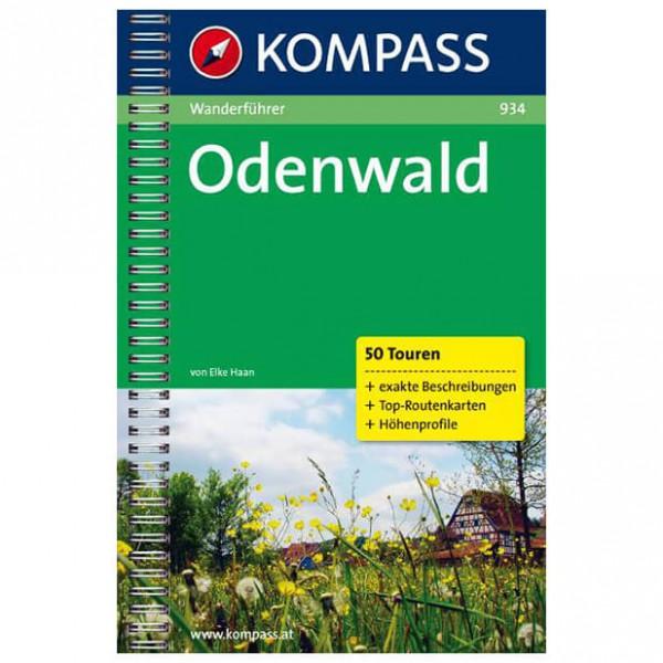 Kompass - Odenwald - Wanderführer