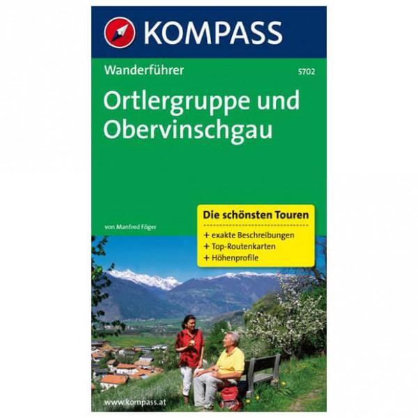 Kompass - Ortlergruppe und Obervinschgau - Wanderführer