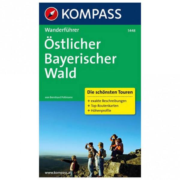 Kompass - Östlicher Bayerischer Wald - Walking guide books