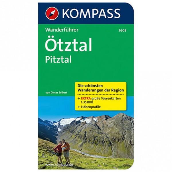 Kompass - Ötztal - Walking guide books