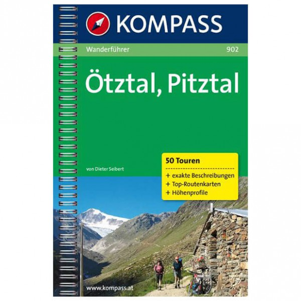 Kompass - Ötztal /Pitztal - Hiking guides