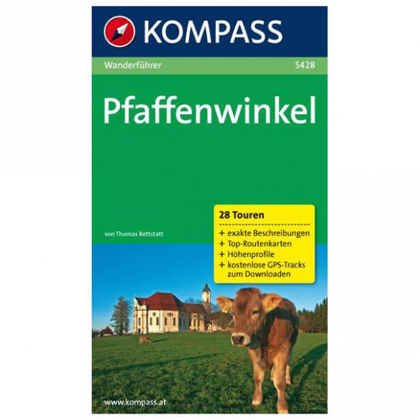 Kompass - Pfaffenwinkel - Wanderführer