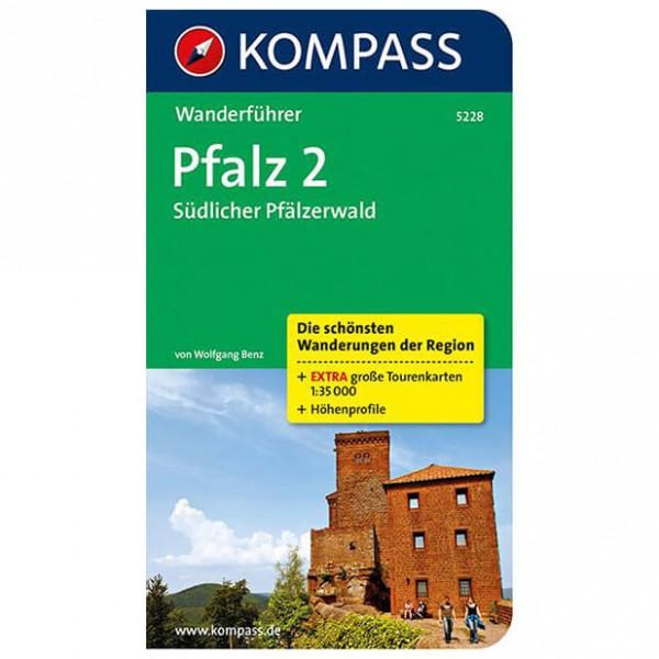 Kompass - Pfalz 2, Südlicher Pfälzerwald - Vandringsguider
