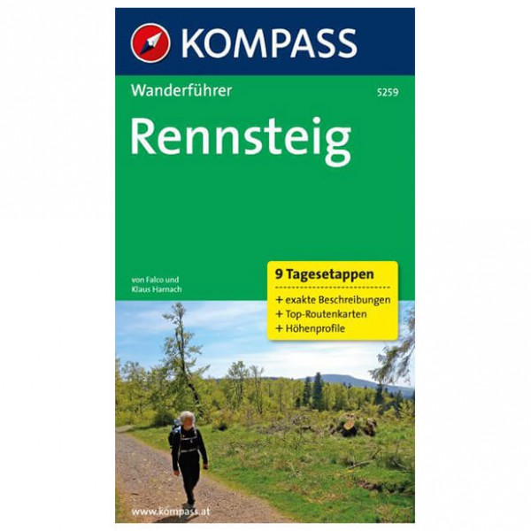 Kompass - Rennsteig - Hiking guides