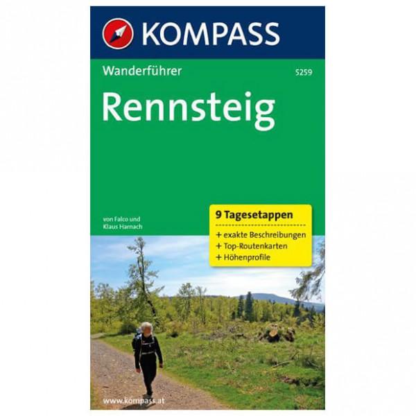 Kompass - Rennsteig - Walking guide books