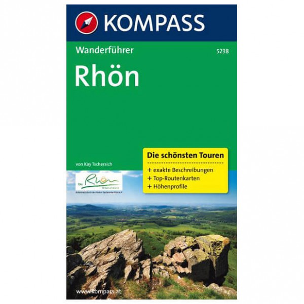 Kompass - Rhön - Walking guide books