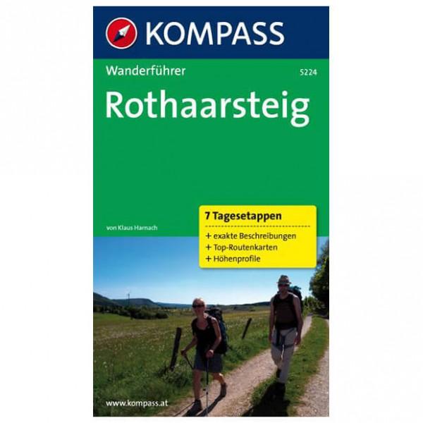 Kompass - Rothaarsteig - Walking guide books