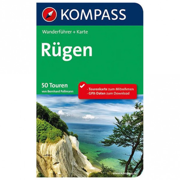 Kompass - Rügen - Walking guide books