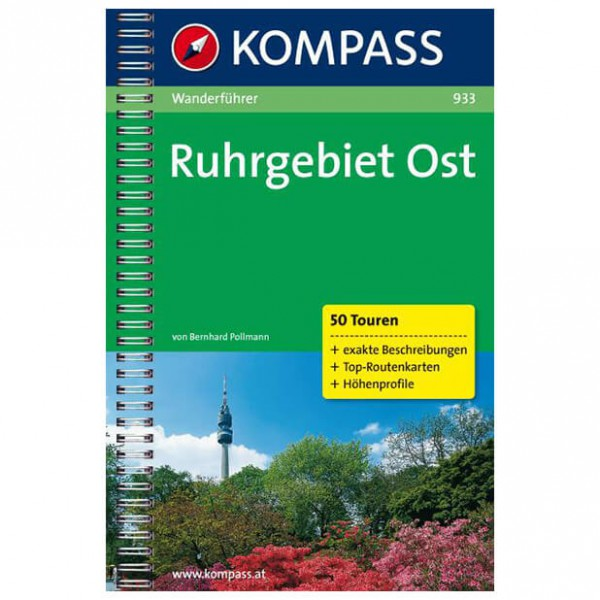 Kompass - Ruhrgebiet Ost - Guides de randonnée