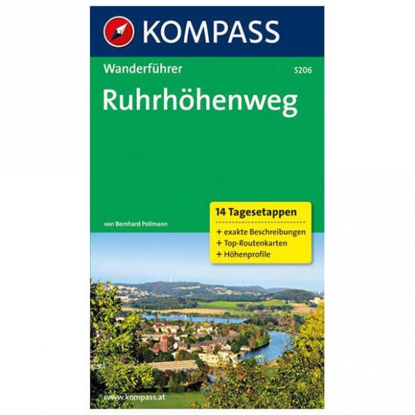 Kompass - Ruhrhöhenweg - Walking guide books