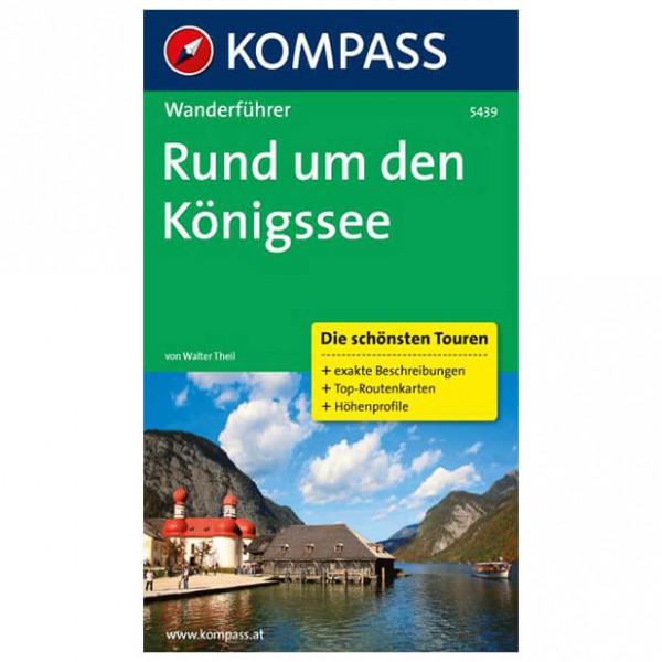 Kompass - Rund um den Königssee - Walking guide books