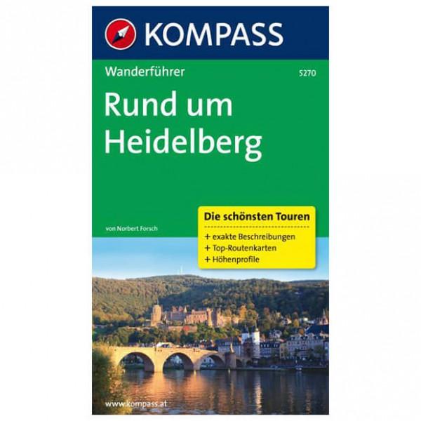 Kompass - Rund um Heidelberg - Walking guide books