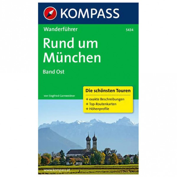 Kompass - Rund um München Band Ost - Walking guide book