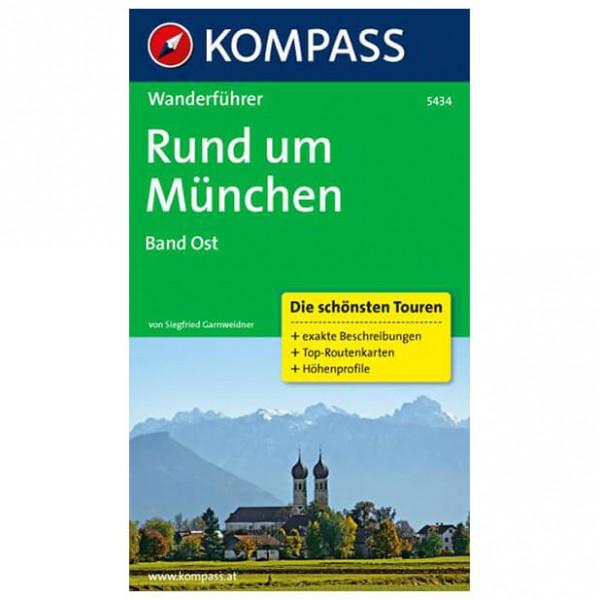 Kompass - Rund um München Band Ost - Walking guide books