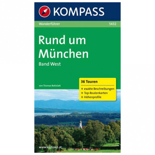 Kompass - Rund um München, Band West - Hiking guides