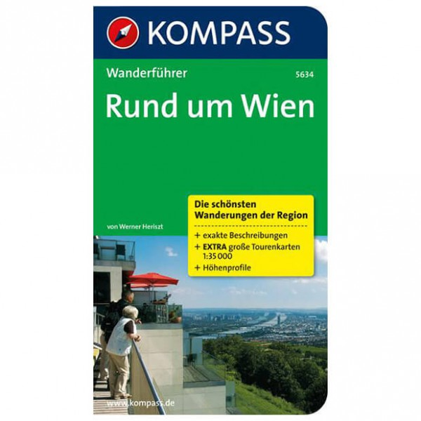 Kompass - Rund um Wien - Walking guide book