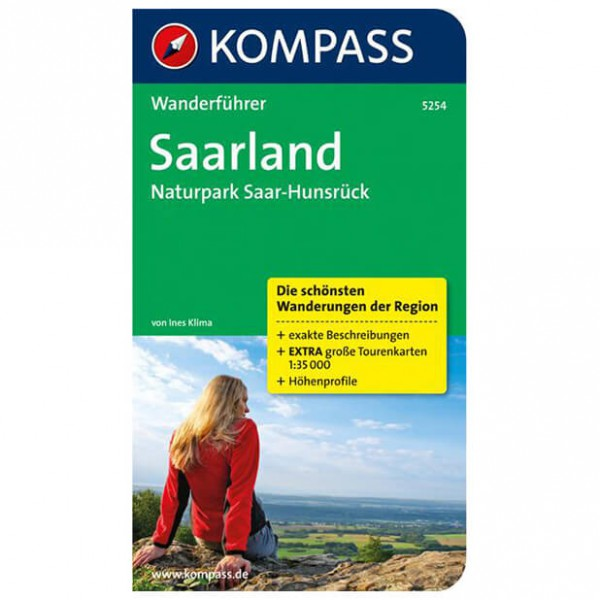 Kompass - Saarland - Walking guide book