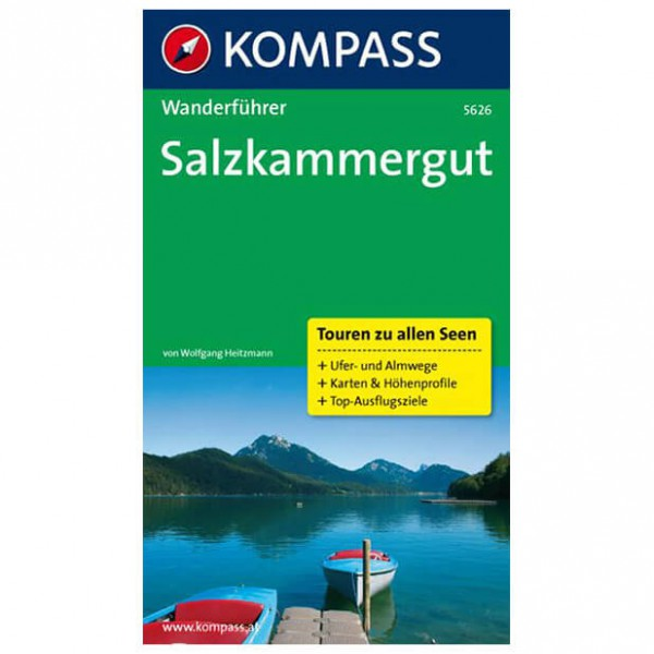Kompass - Salzkammergut - Wanderführer 5626