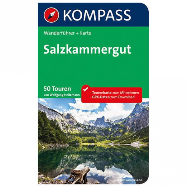 Kompass - Salzkammergut - Walking guide book