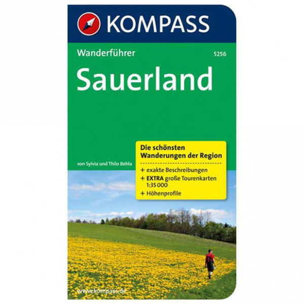 Kompass - Sauerland - Walking guide books