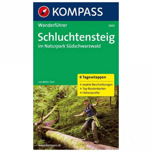 Kompass - Schluchtensteig im Naturpark Südschwarzwald - Wandelgids