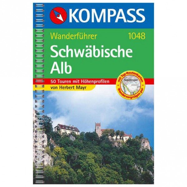 Kompass - Schwäbische Alb - Wandelgidsen